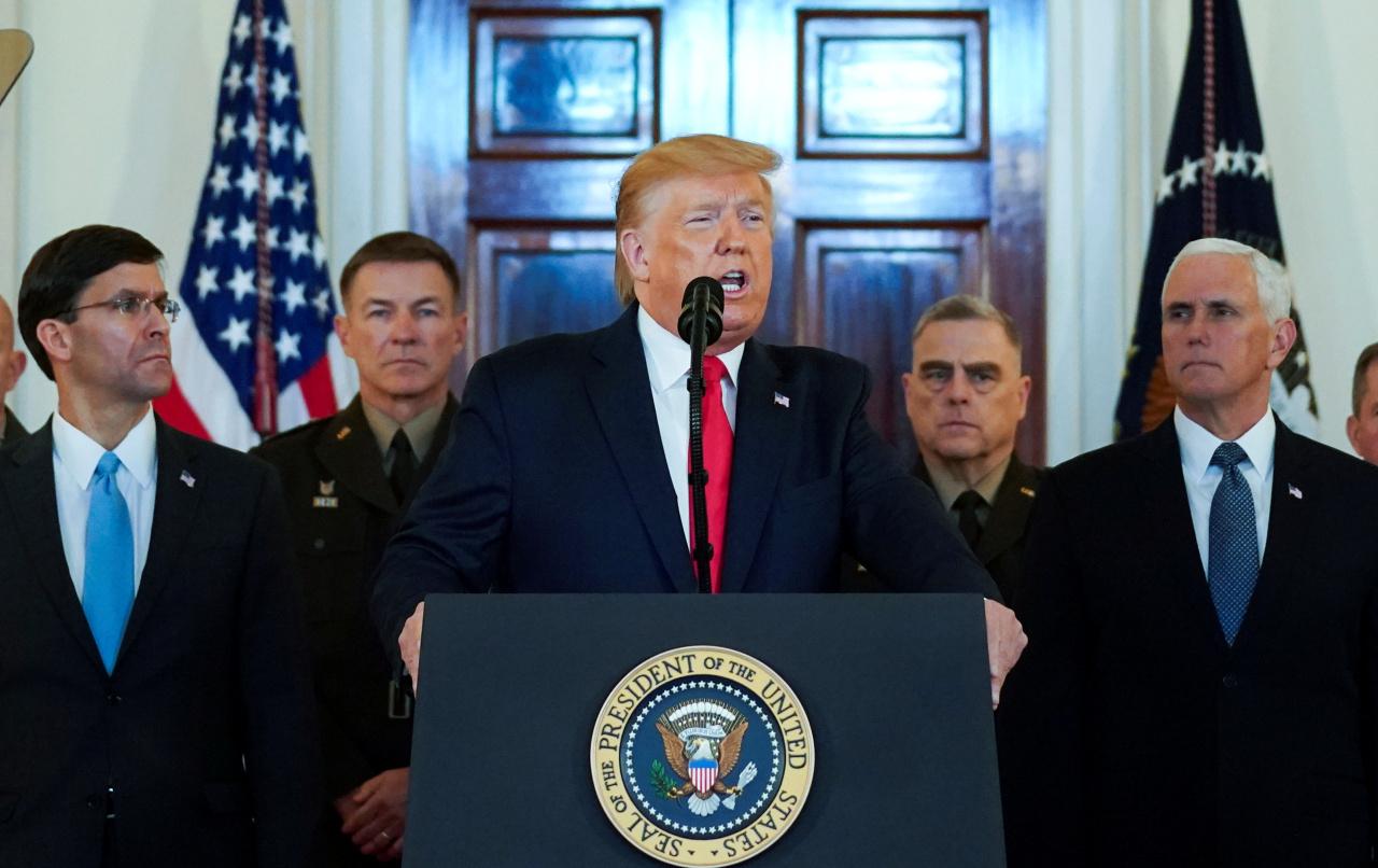 US President Donald Trump (Reuters-Yonhap)