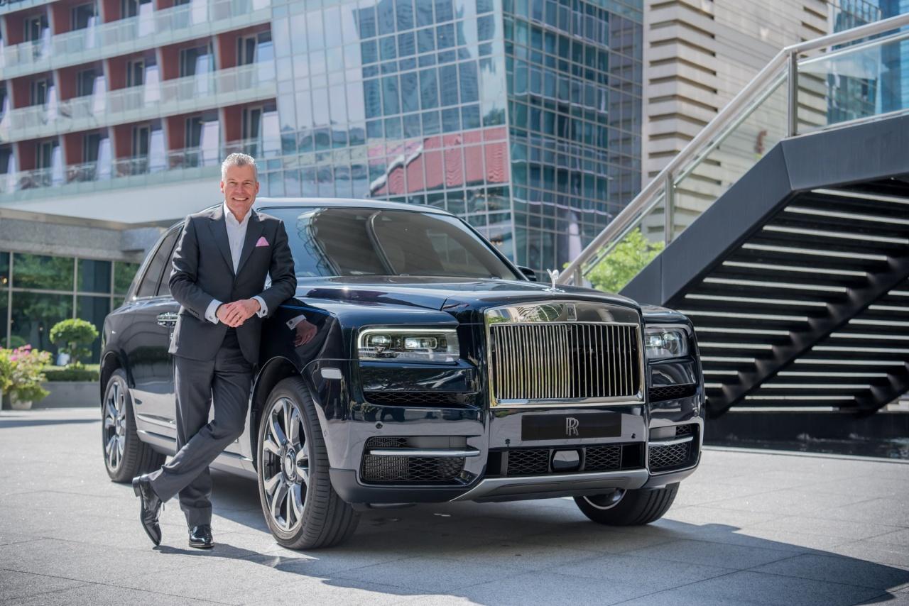 Torsten Muller-Otvos, CEO of Rolls-Royce Motor Cars (Rolls-Royce)