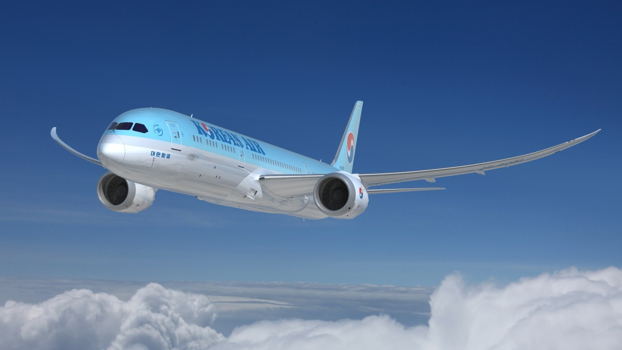 Korean Air Boeing 787-9 (Korean Air)