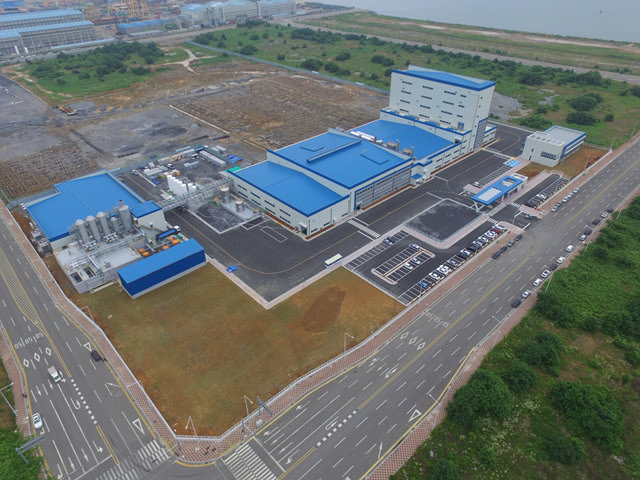 Posco Chemical is to have 30,000-ton anode production capacity at its Yulchon Industrial Complex plants within the first half of this year. (Posco Chemical)