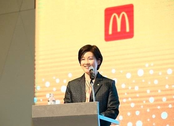 McDonald's Korea CEO Cho Ju-yeon (Mcdonald's Korea)