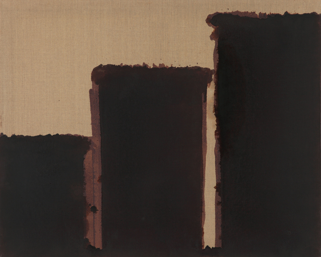 """Burnt Umber & Ultramarine"" by Yun Hyong-keun (PKM Gallery)"