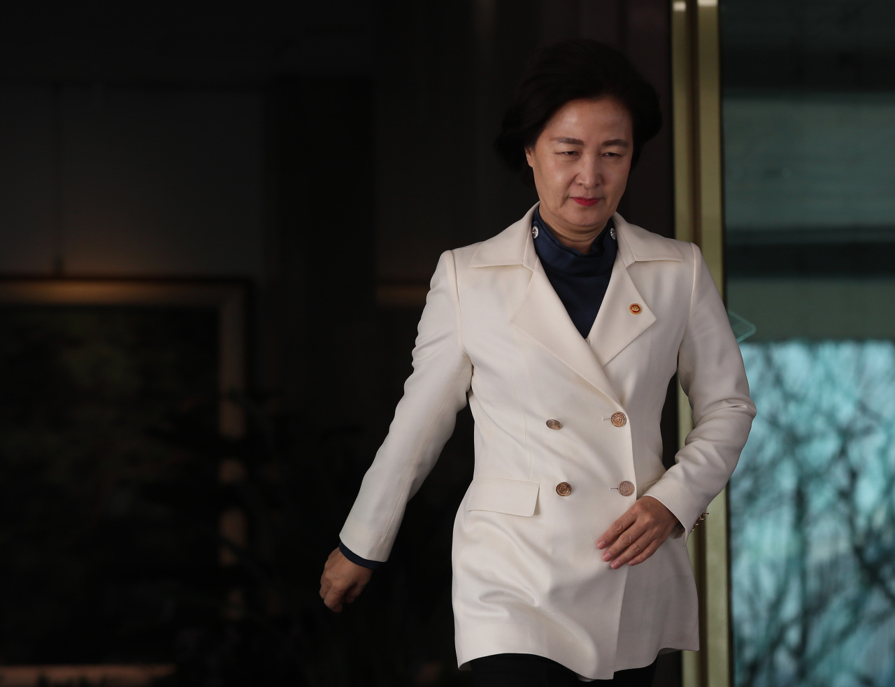 Justice Minister Choo Mi-ae (Yonhap)