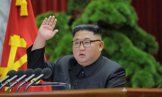 Kim Jong-un speaks of a
