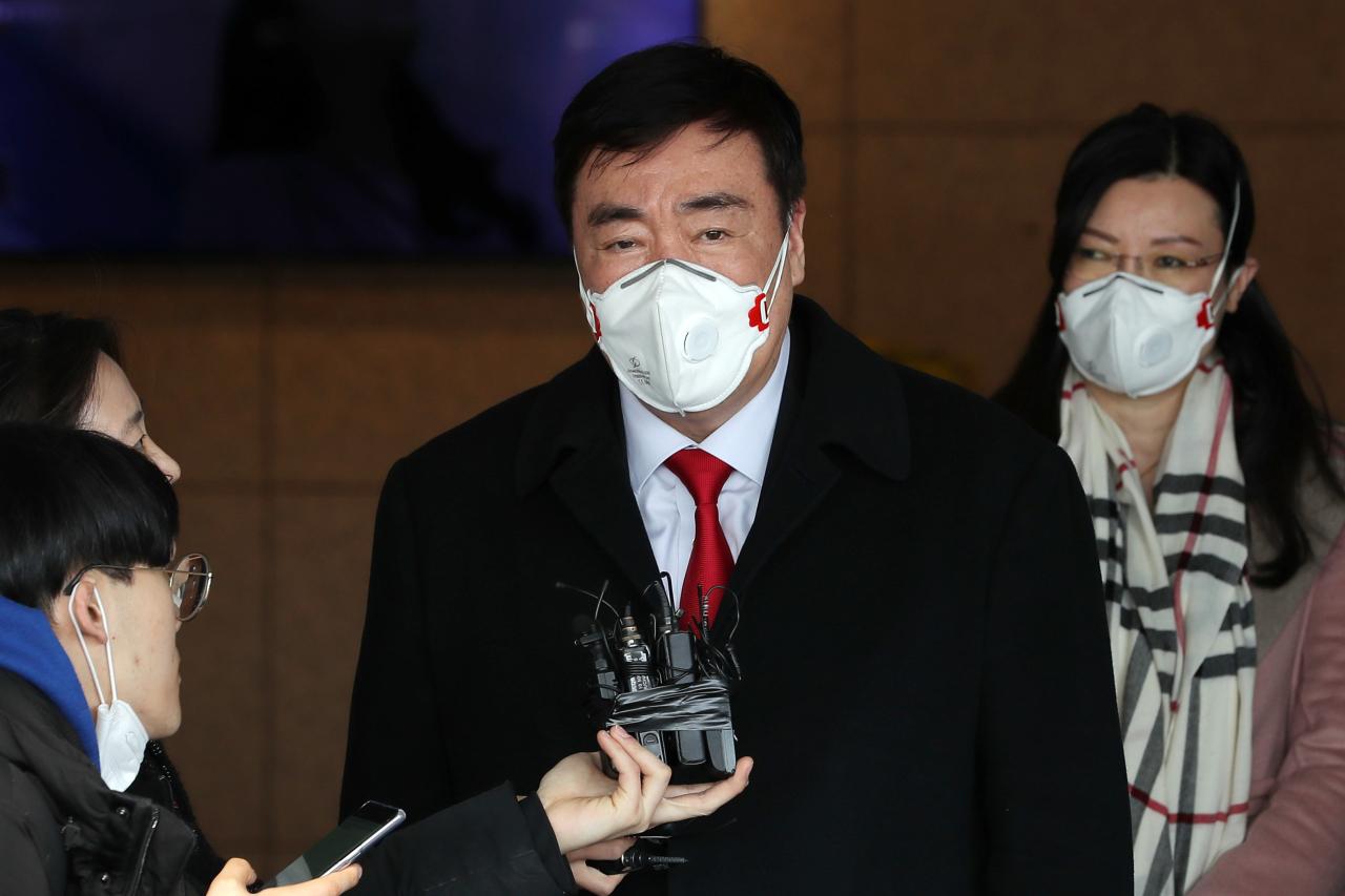 New Chinese Ambassador to South Korea Xing Haiming (Yonhap)