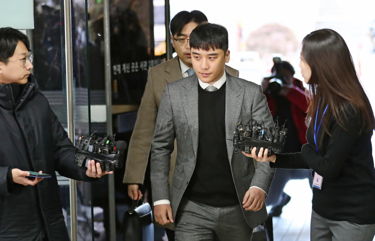 'Big Bang' K-pop star Seungri charged with organizing prostitution