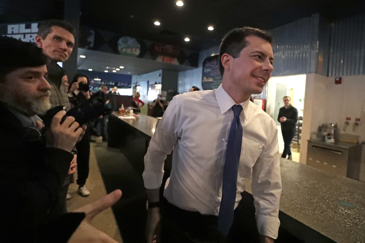 Democratic White House candidate Pete Buttigieg (AP-Yonhap)