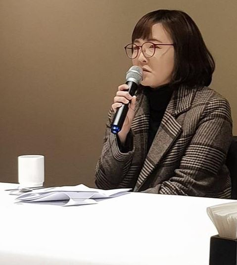 Writer Yoon Yi-hyung, winner of the 2019 Yi Sang Literary Award (Yonhap)