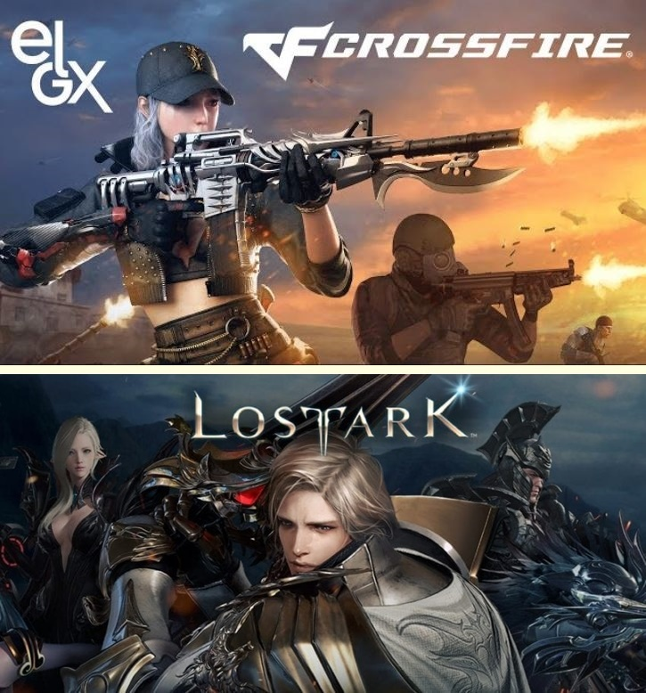 Cross Fire and Lost Ark games from Smilegate (Smilegate)