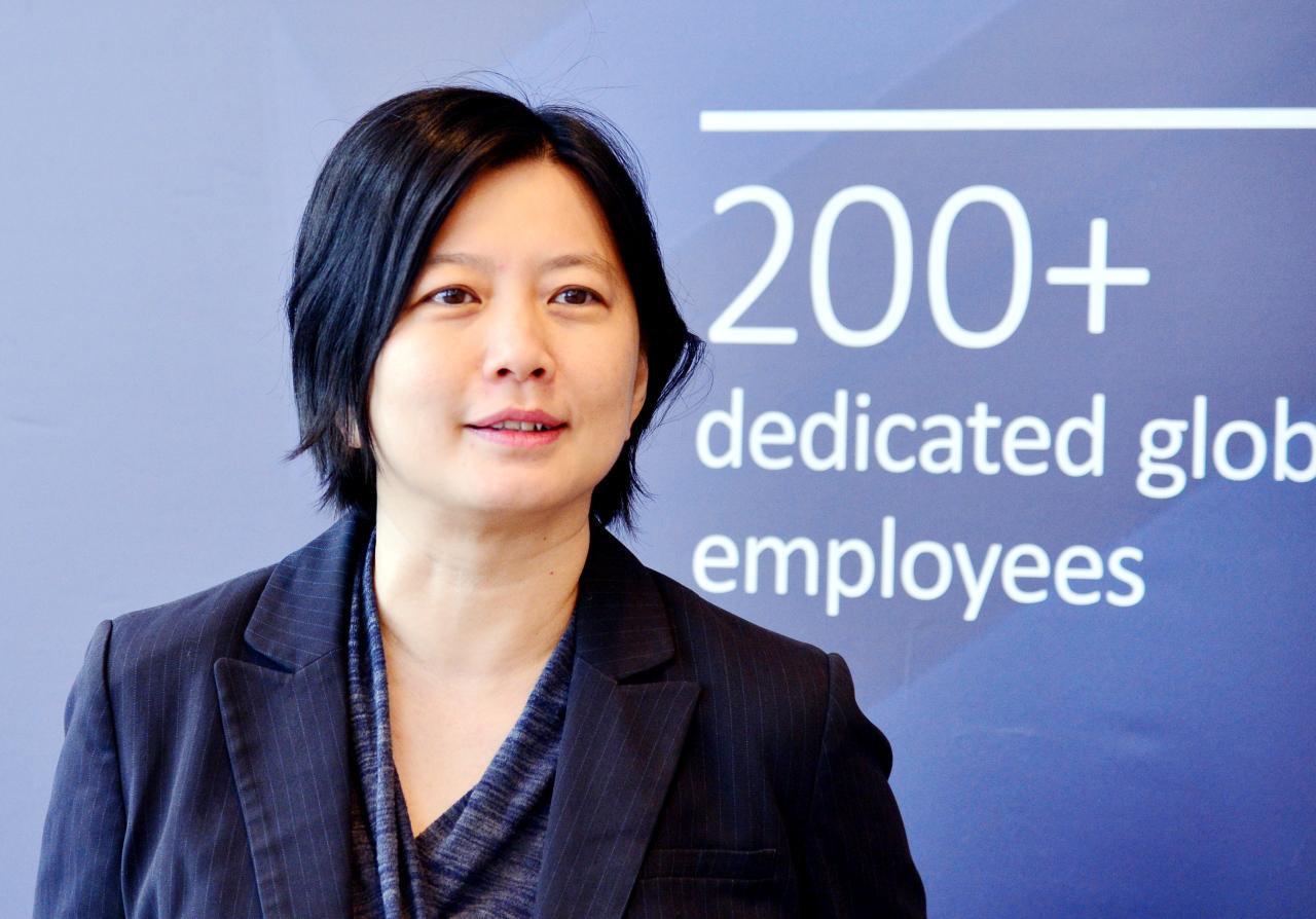 Yar-Ping Soo, partner at Adams Street Partners, attends Adams Street's Seoul conference in December. (Park Hyun-koo/The Korea Herald)