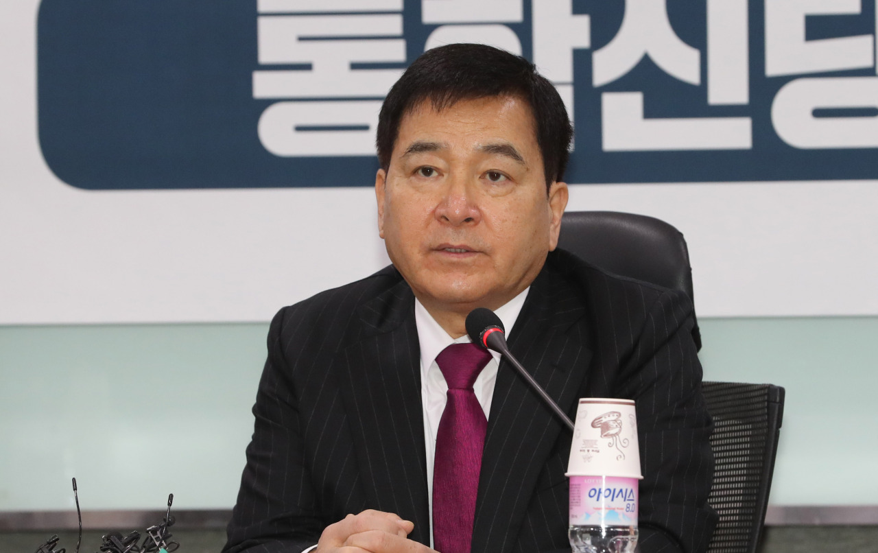 Liberty Korea Party floor leader Shim Jae-chul (Yonhap)