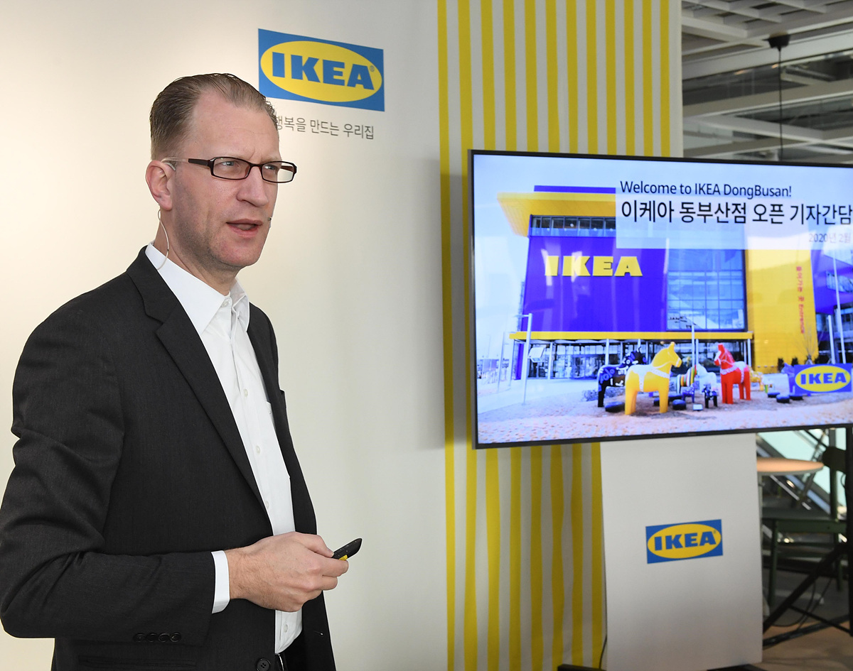 Ikea Korea Country Retail Manager Frederik Johansson (Ikea Korea)