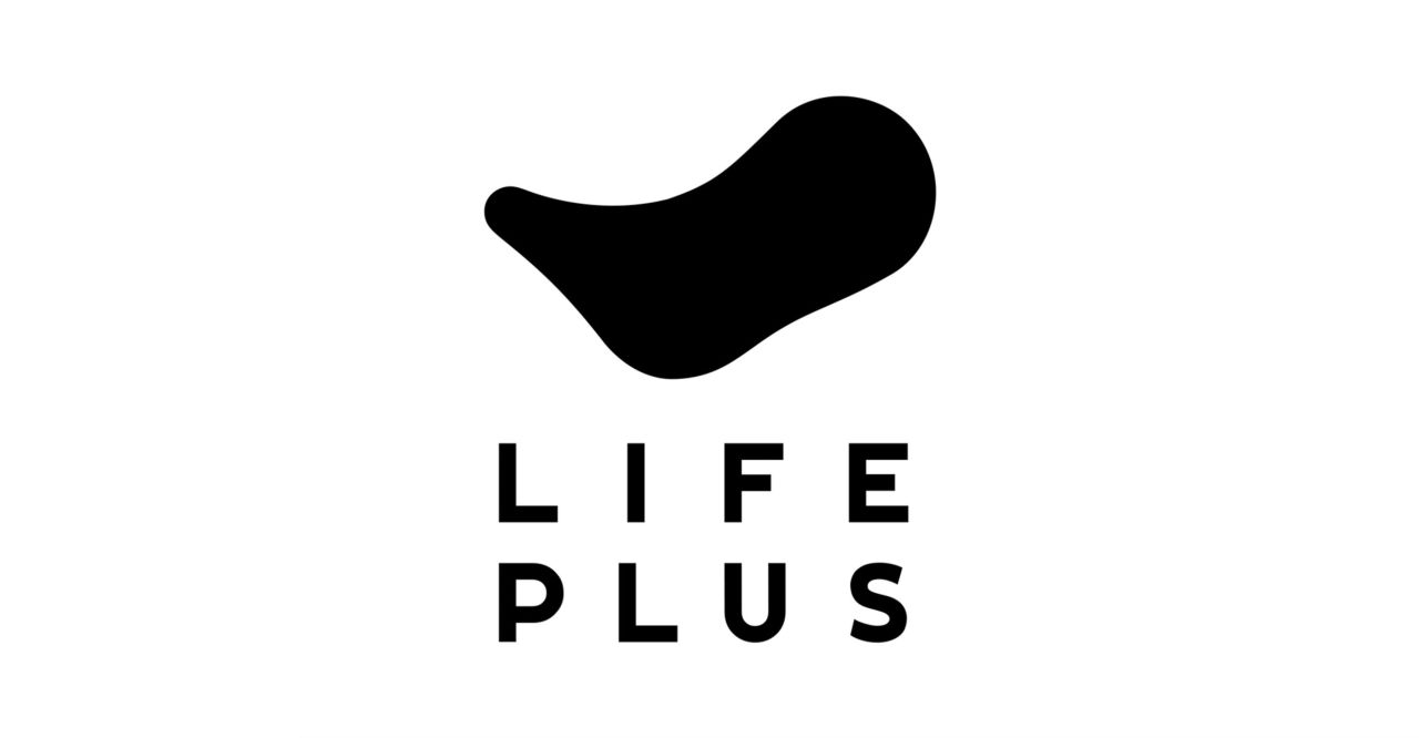 The logo of Lifeplus, a joint brand for South Korean conglomerate Hanhwa Group's financial businesses.