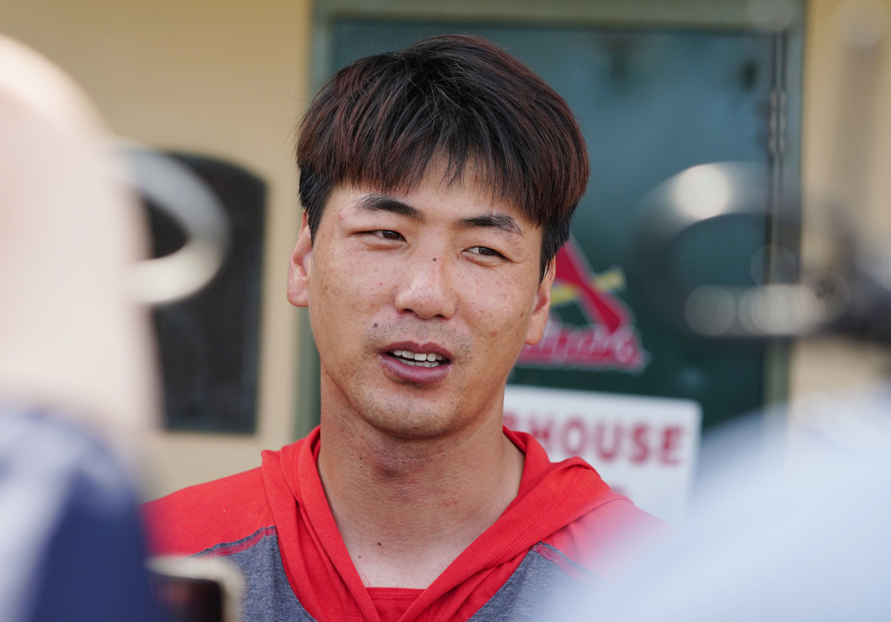 South Korean pitcher Kim Kwang-hyun (Yonhap)