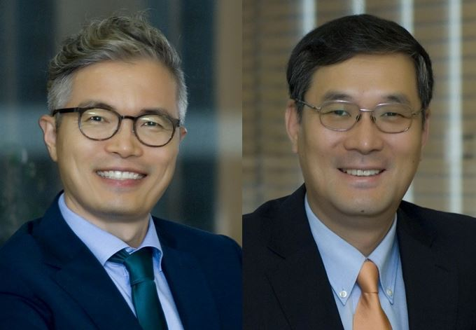 Barings Asset Management Korea CEO Ike Bae and CIO John Park (Barings Asset Management Korea)