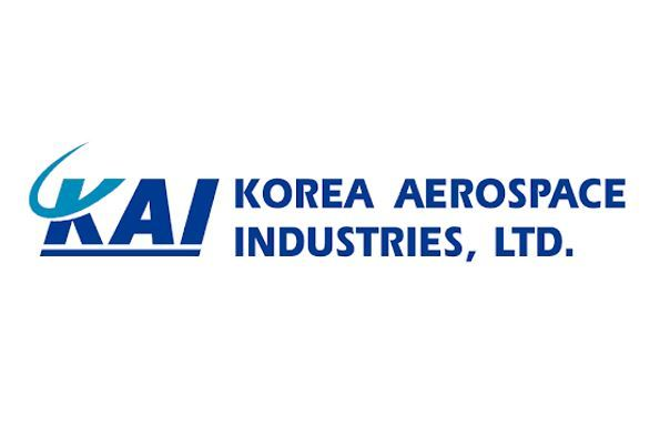A logo of Korea Aerospace Industries