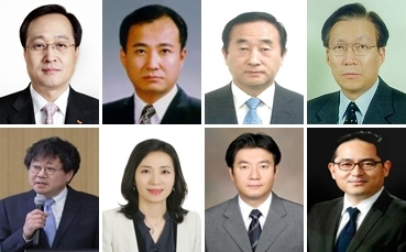 Eight candidates are proposed for Hanjin Group's board by a coalition comprising Cho Hyun-ah, KCGI and Bando Construction.(Yonhap)