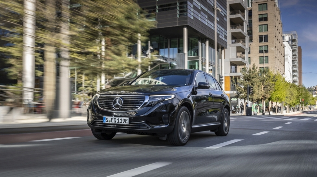 Mercedes-Benz`s all-electric vehicle EQC 400 4MATIC SUV. (Mercedes-Benz)