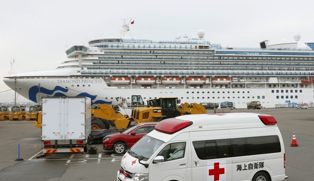 99 more coronavirus cases confirmed in Japanese cruise