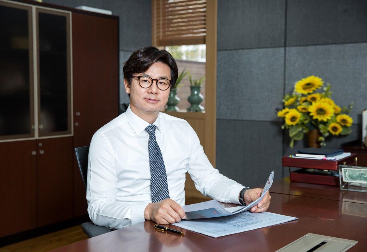 Itcen Chairman Kang Jin-mo