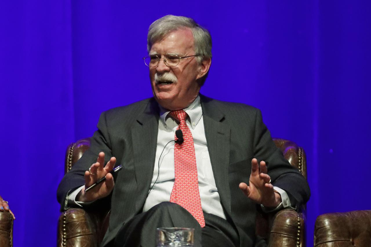 Former US National Security Adviser John Bolton (AP-Yonhap)