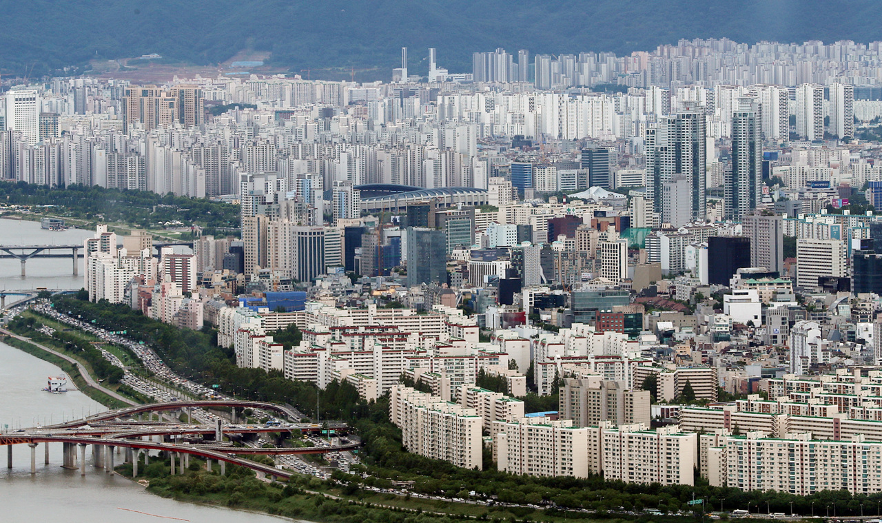 An aerial view of Seoul (Yonhap)