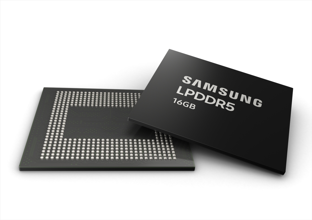 The 16 GB LPDDR5 (Samsung Electronics)