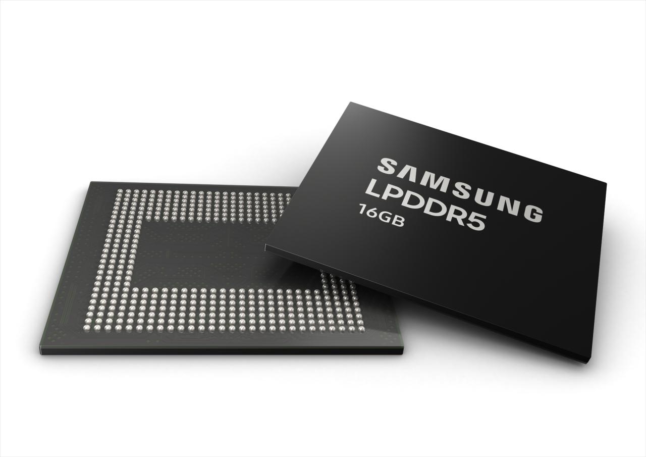 Samsung Begins 16GB Mobile DRAM Mass Production