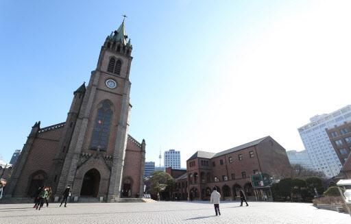 Myeongdong Cathedral (Yonhap)