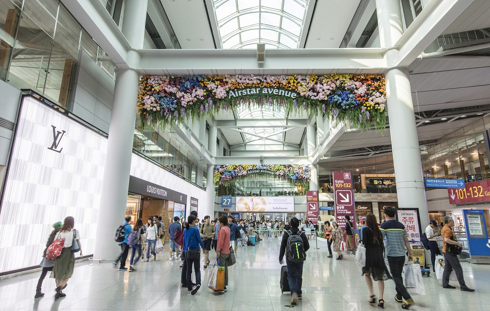 Incheon Airport duty-free zone (IIAC)