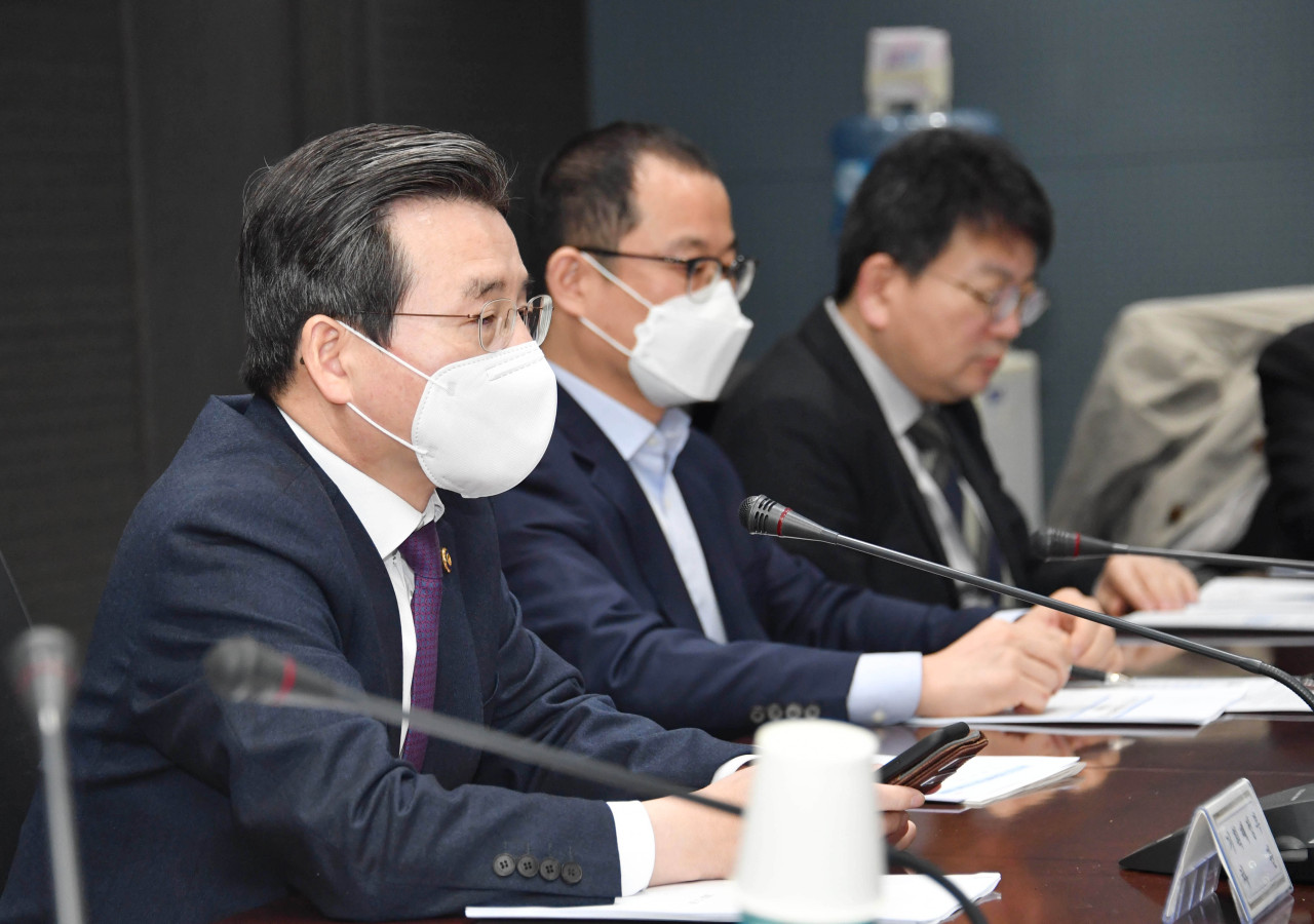 Kim Yong-beom, vice minister of economy and finance. (Yonhap)