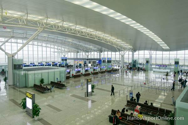 Noi Bai International Airport in Hanoi, Vietnam (Noi Bai International Airport website)