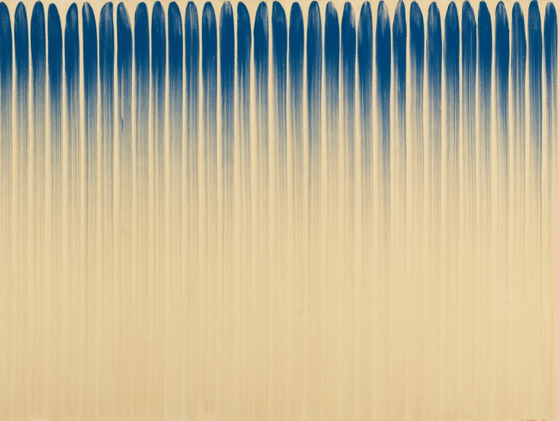 """Lee Ufan, """"From Line"""" (MMCA collection)"""