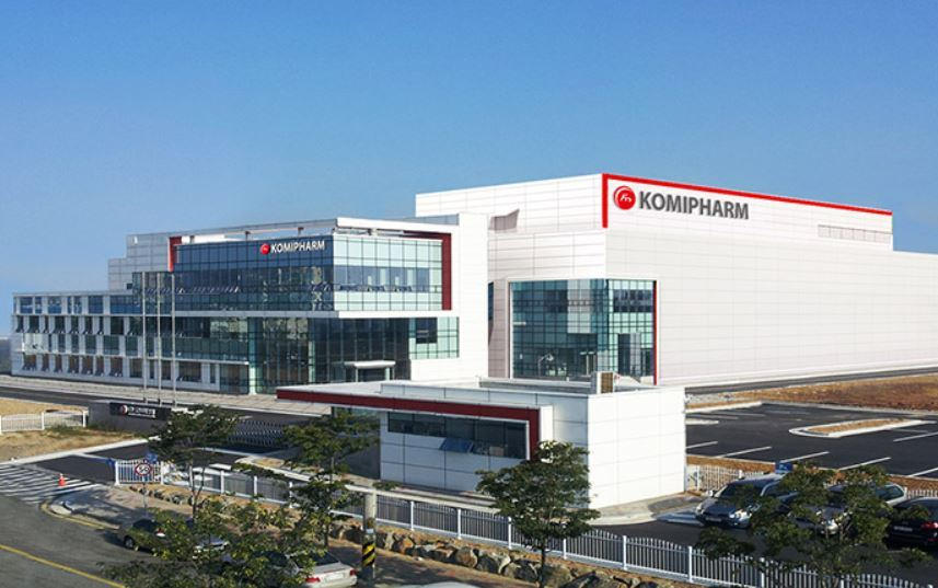 Komipharm production plant in Osong, North Chungcheong Province