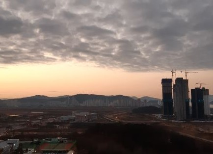 A view of Sejong City area around the Geum River on Feb. 26, 2020 (The Korea Herald)