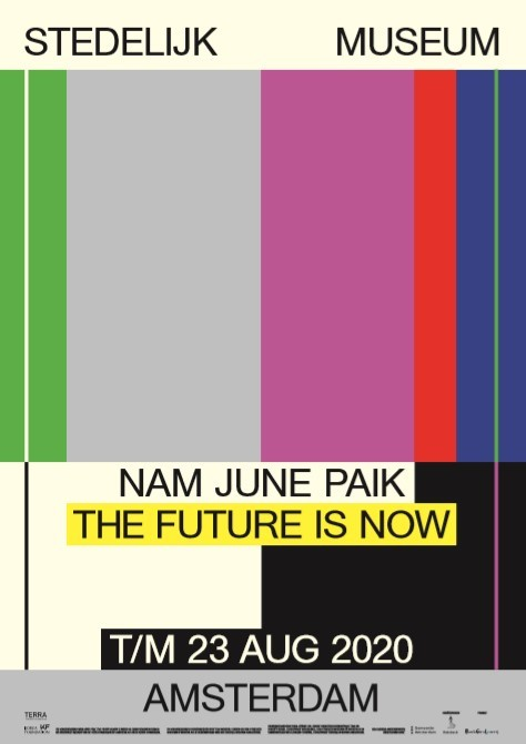 """Poster of """"The Future is Now"""" (Korea Foundation)"""