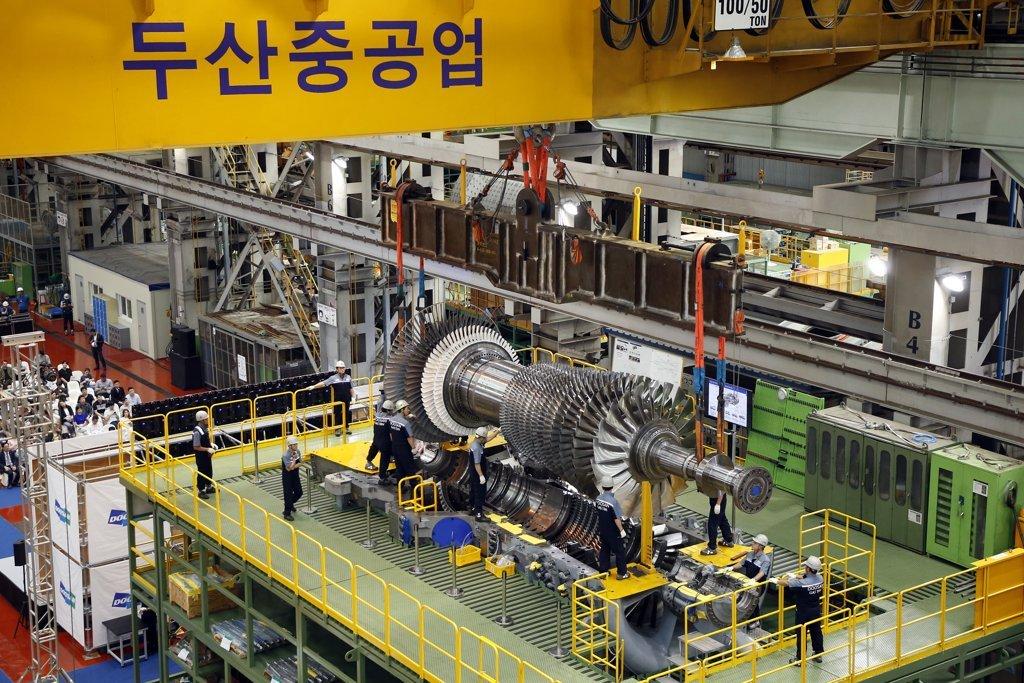 (Doosan Heavy Industries & Construction Co.-Yonhap)