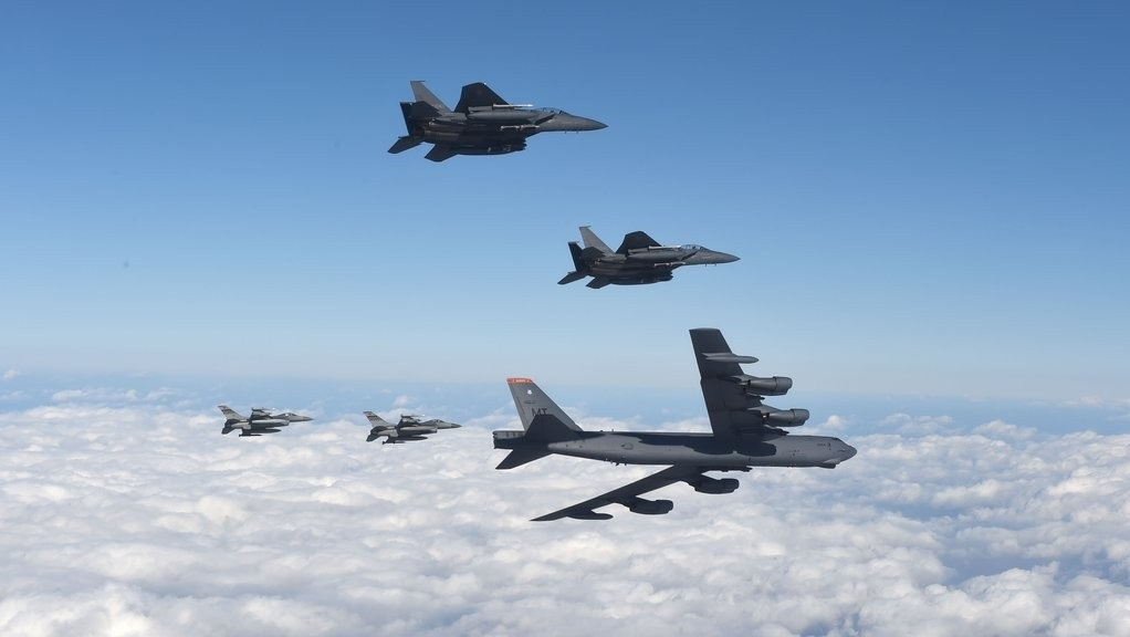 ROK-US joint air force drills (Yonhap)