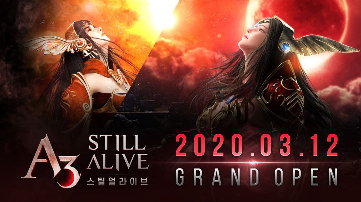 A3: Still Alive launches on Thursday in Korea. (Netmarble)