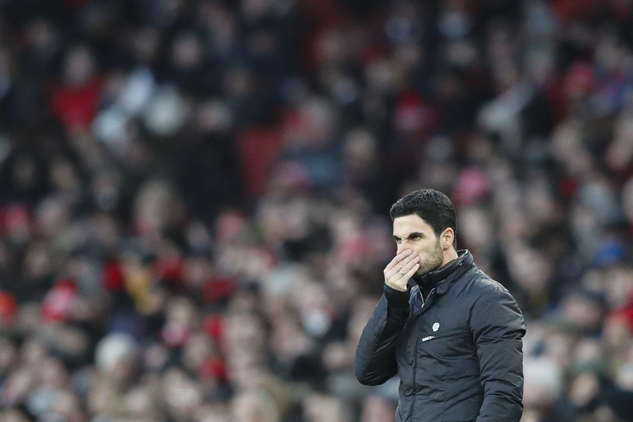 Arsenal manager Mikel Arteta (AFP-Yonhap)