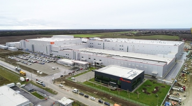 SK Innovation battery plant in Hungary