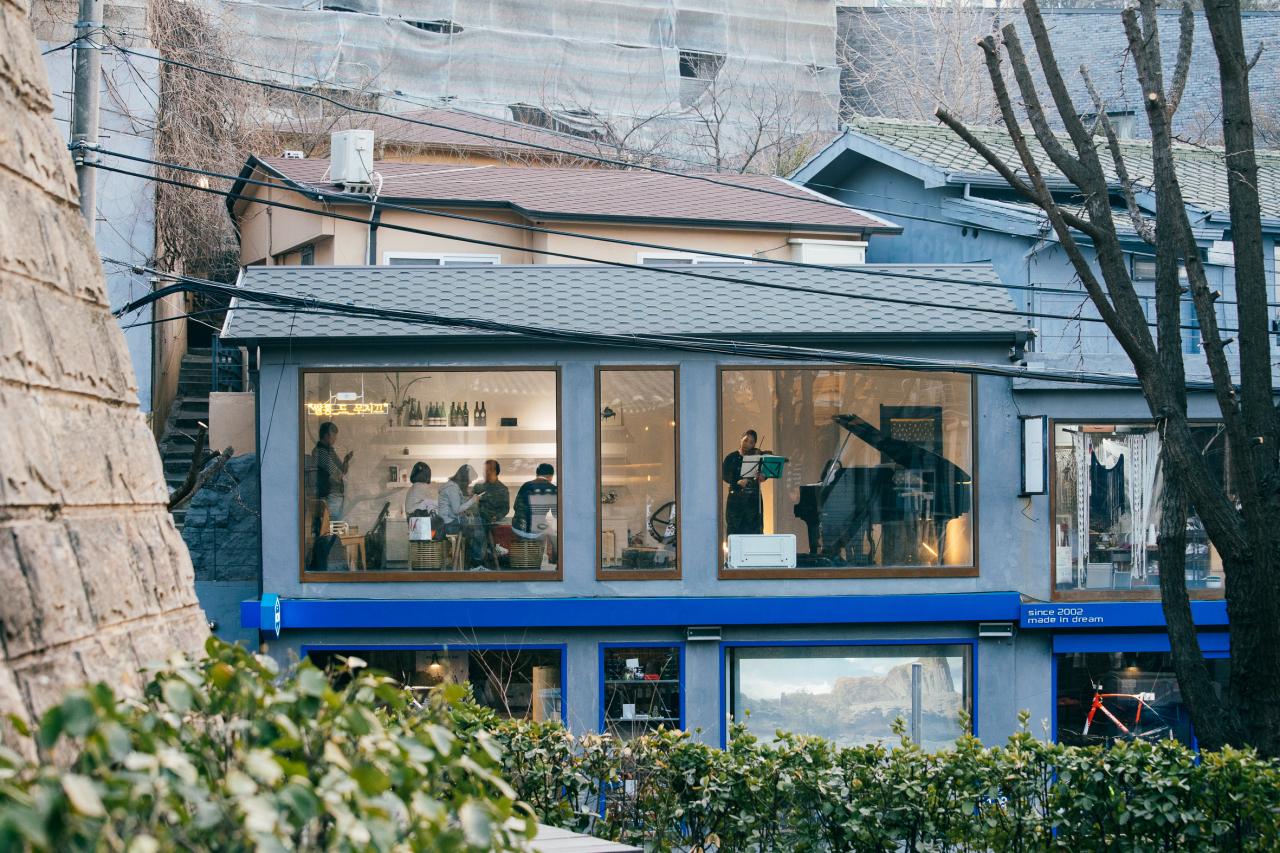 Salon de Musique is located in Buam-dong, in the northern part of Seoul. (Salon de Musique)