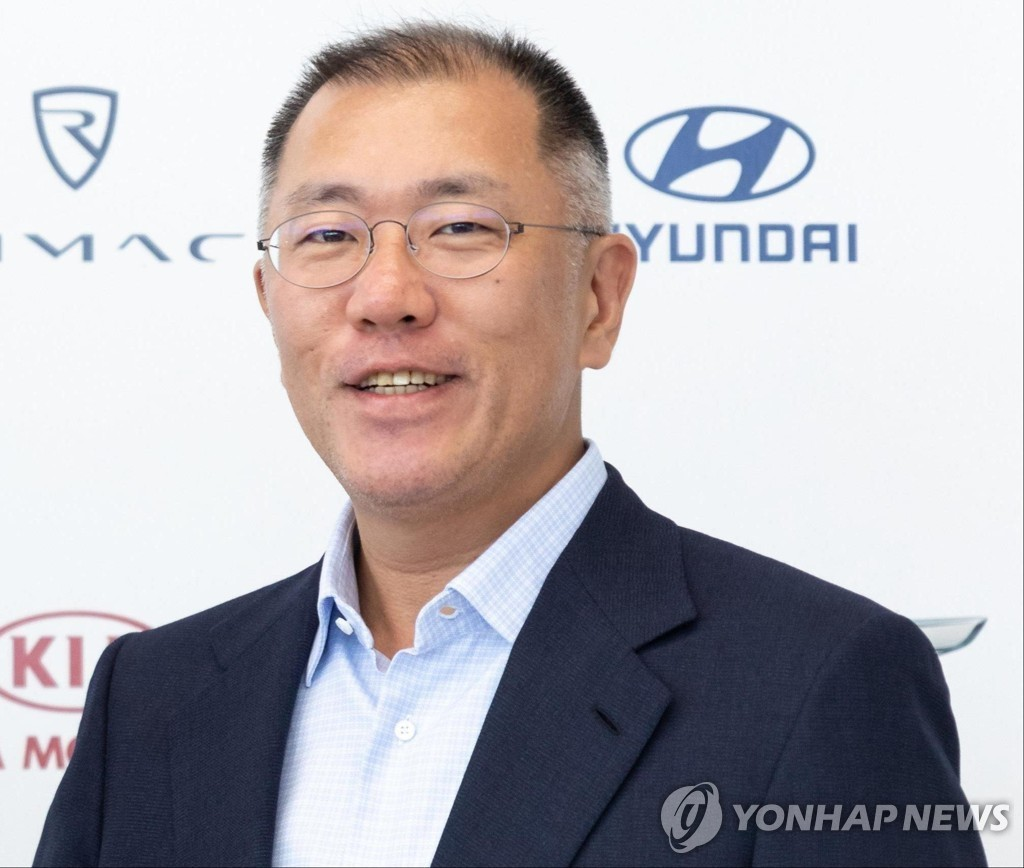 Hyundai Motor Group Executive Vice Chairman Chung Euisun (Yonhap)