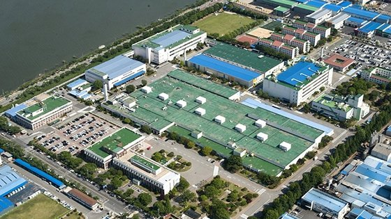 Samsung's smartphone plant in Gumi (Yonhap)