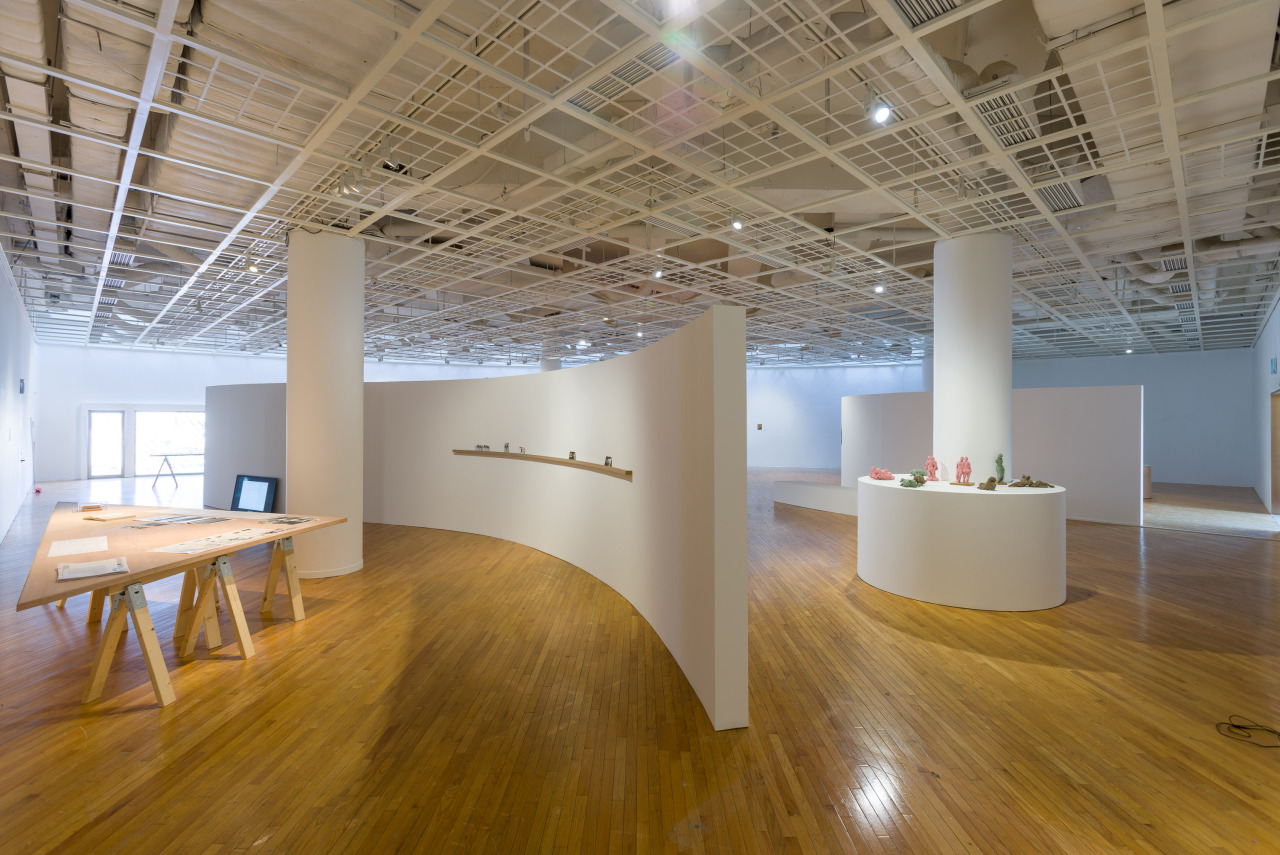 "Installation view of Art Sonje Center's exhibition ""Mind Stream"" (Gim Ikhyun/Art Sonje Center)"