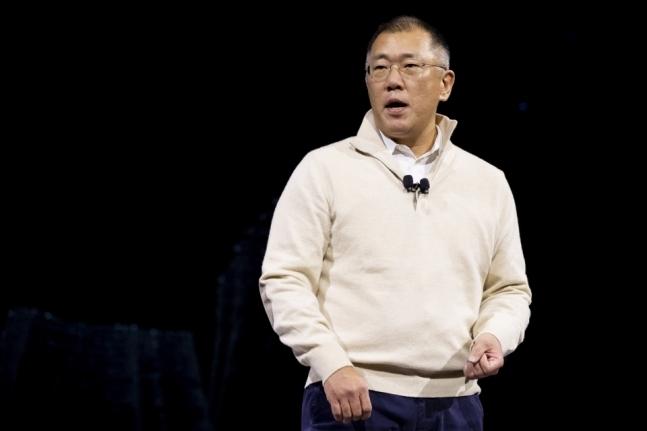 Hyundai Motor Group Executive Vice Chairman Chung Euisun (Yonhap)