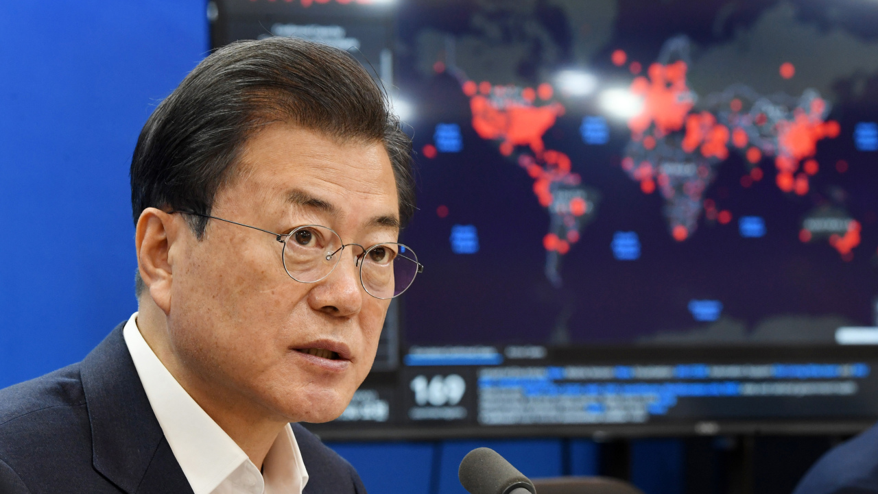 South Korean President Moon Jae-in (Yonhap)