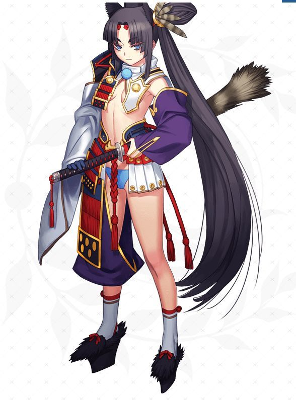 A character from Fate Grand Order, published by Netmarble, for players over age 12 (Netmarble)