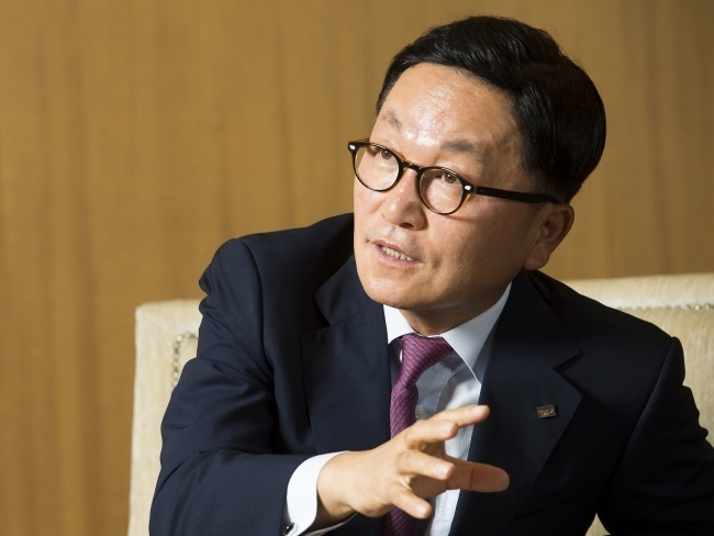 Mirae Asset Financial Group Chairman Park Hyeon-joo