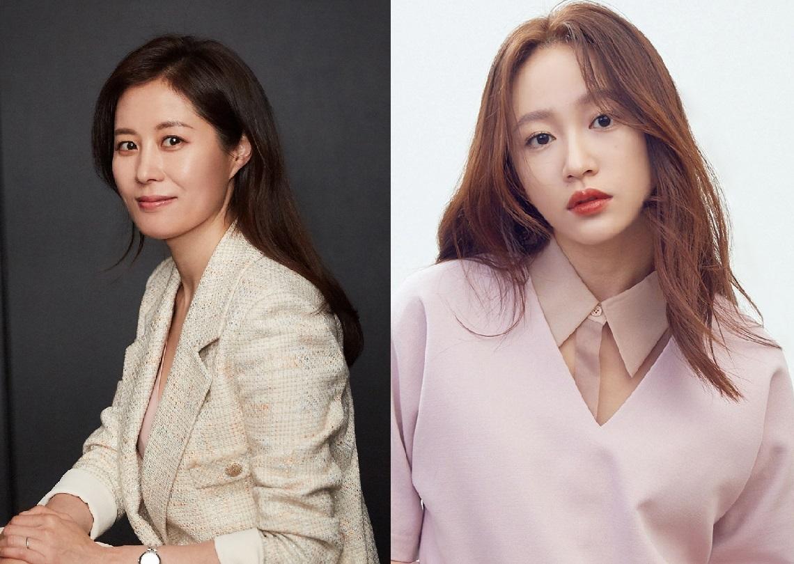 Moon So-ri (C-JeS Entertainment)/EXID's Hani (Sublime Artist Agency)